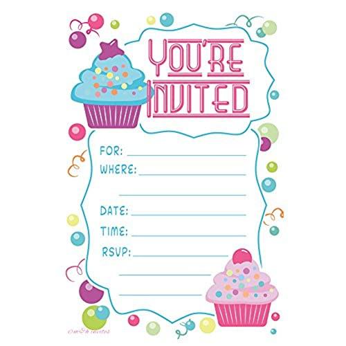 Toddler Birthday Invitations  Kids Birthday Invitations Amazon