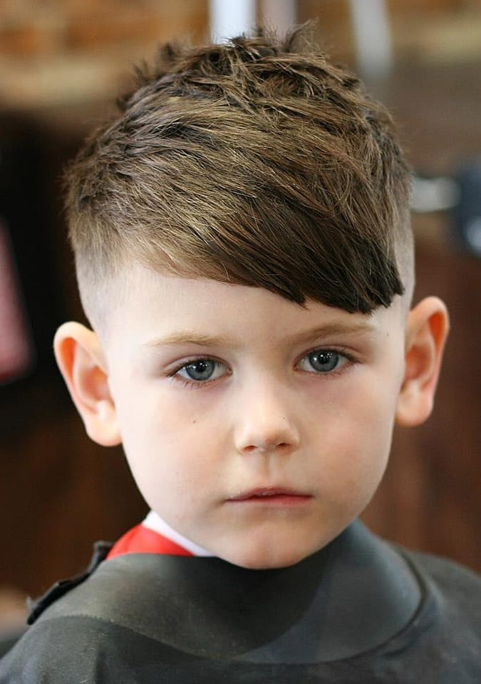 Toddler Boy Long Hairstyles  60 Cute Toddler Boy Haircuts Your Kids will Love