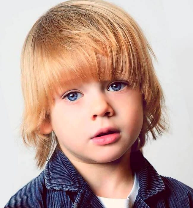 Toddler Boy Long Hairstyles  Boys' Haircuts and Hairstyles for all the Times Useful Tips