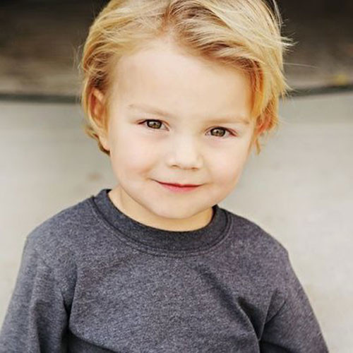 Toddler Boy Long Hairstyles  35 Cute Toddler Boy Haircuts Best Cuts & Styles For