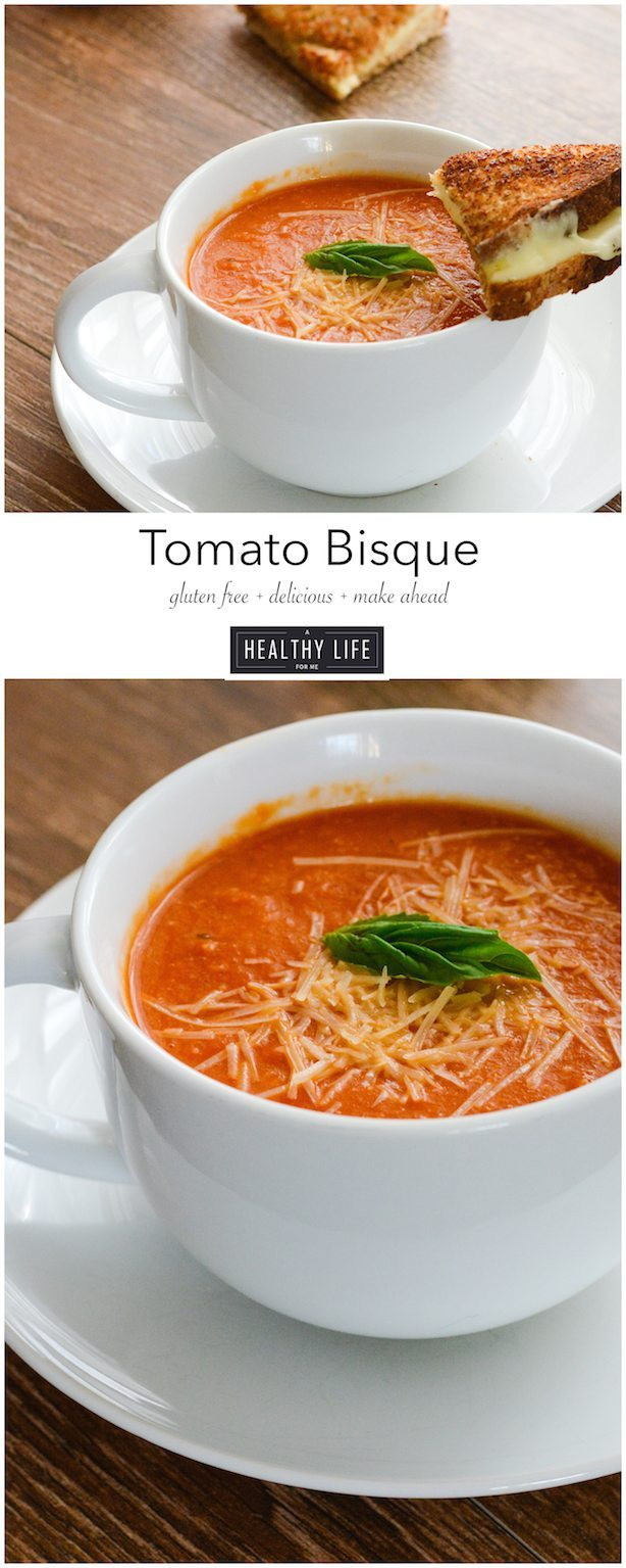 Tomato Bisque Soup Recipes  Tomato Bisque A Healthy Life For Me