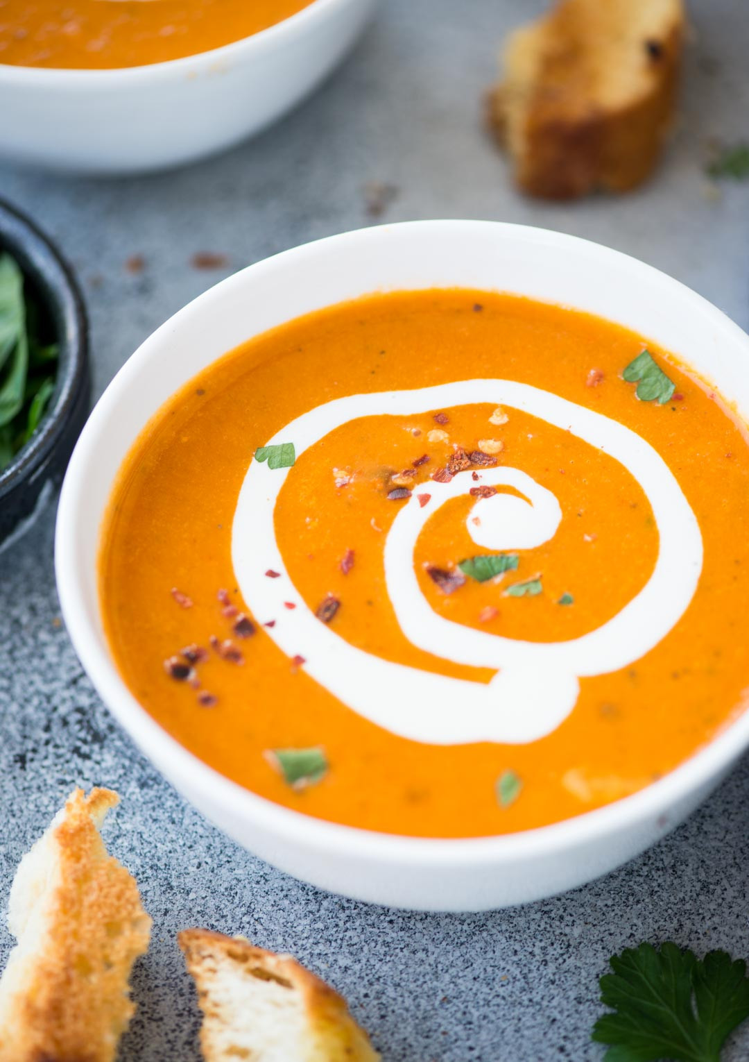 Tomato Bisque Soup Recipes  CREAMY TOMATO BISQUE The flavours of kitchen