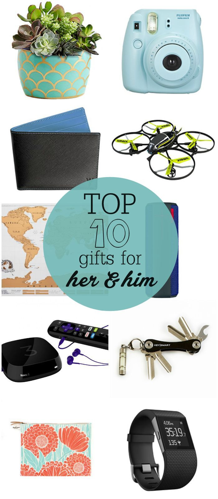 Top Birthday Gifts For Her  Top 10 Gifts for Her and Him