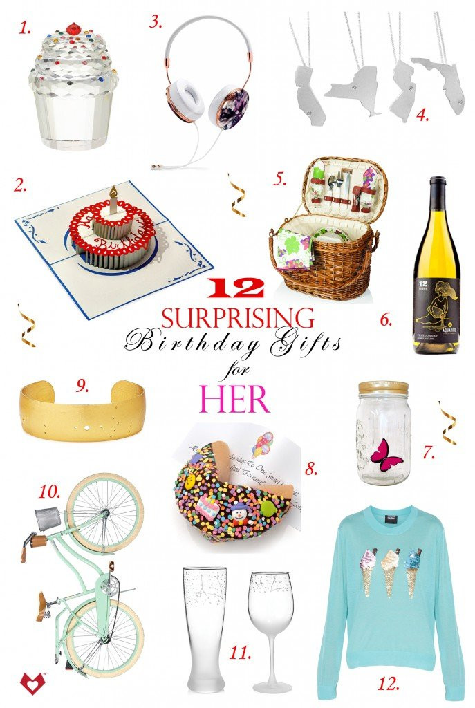 Top Birthday Gifts For Her  12 Surprising Birthday Gifts for Her Lovepop