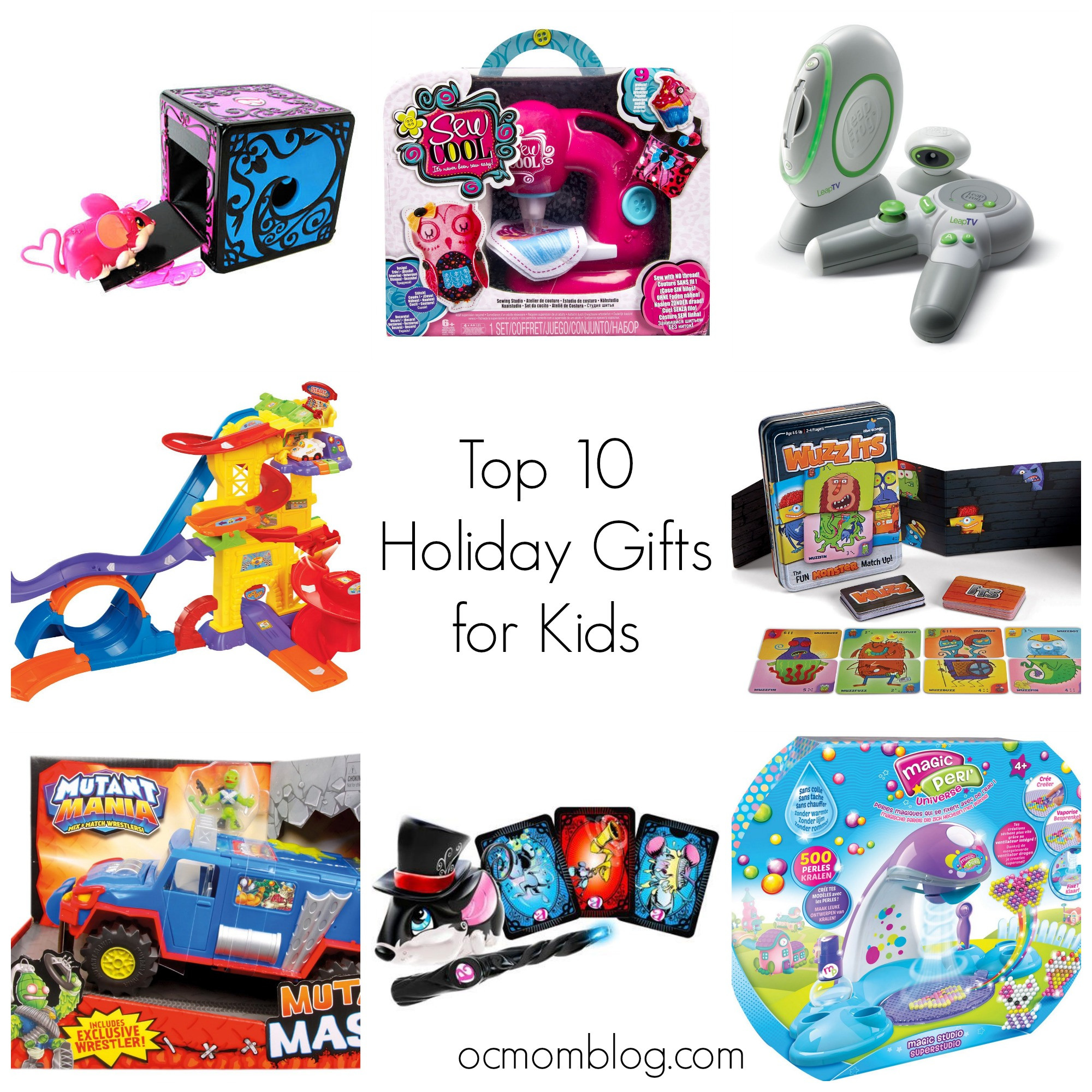 Top Kids Christmas Gifts  Holiday Gift Guide Top 10 Gifts for Kids