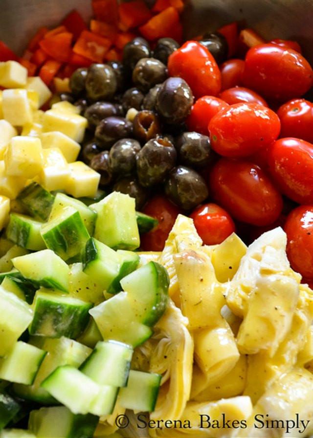 Tortellini Pasta Salad With Italian Dressing  Cold Italian Tortellini Pasta Salad