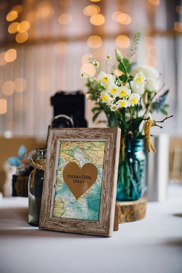 Travel Themed Wedding Centerpieces  16 Travel Themed Wedding Ideas That Inspire Oh Best Day Ever