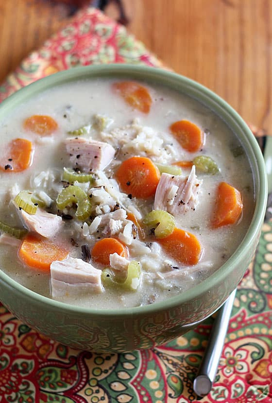 Turkey Wild Rice Soup Recipe  Turkey and Wild Rice Soup
