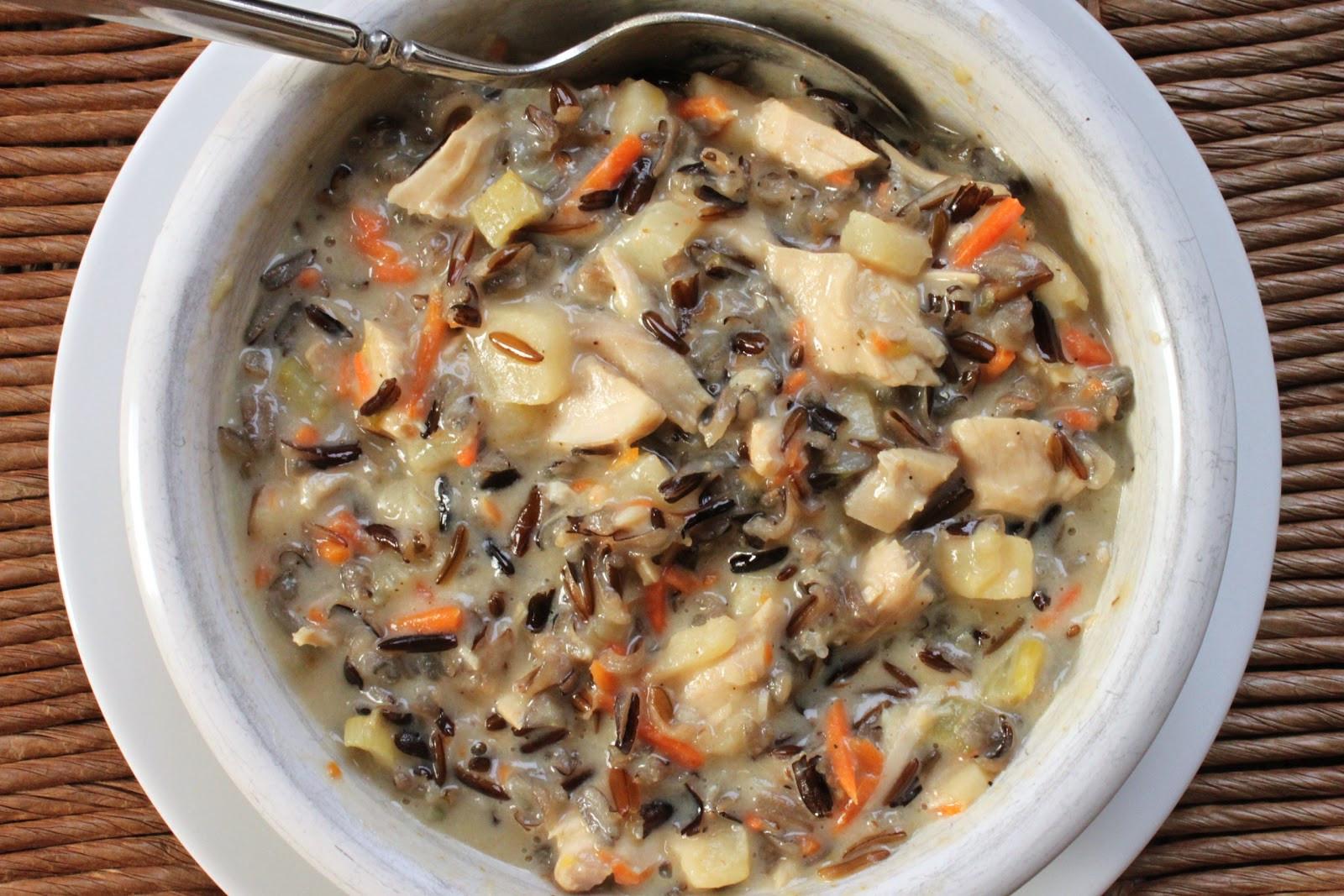 Turkey Wild Rice Soup Recipe  December 2012