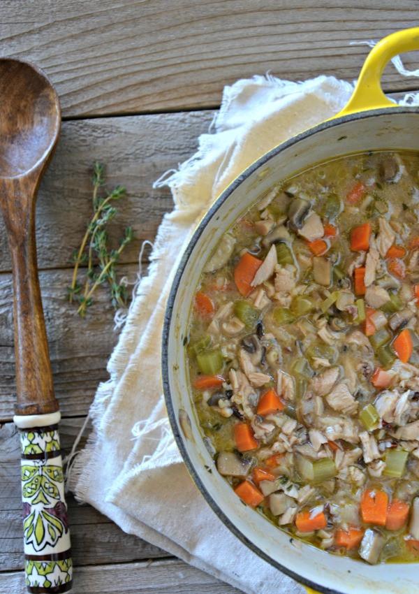 Turkey Wild Rice Soup Recipe  Leftover Turkey & Wild Rice Soup Mountain Mama Cooks