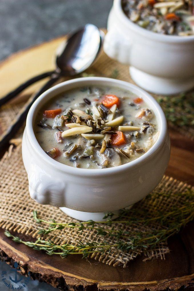 Turkey Wild Rice Soup Recipe  Turkey Wild Rice Soup Recipe With images