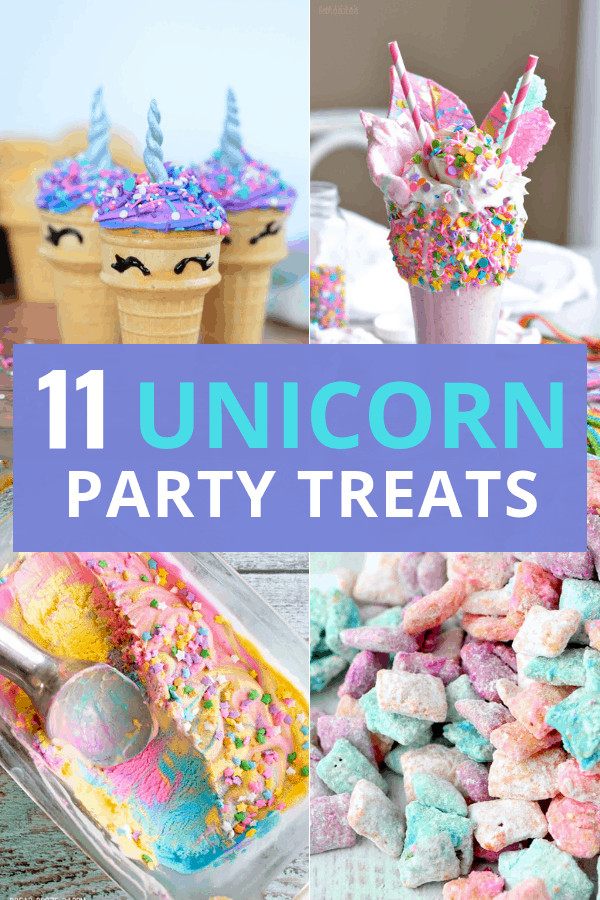 Unicorn Food Ideas For Party  11 Magical Food Ideas for a Unicorn Birthday Party
