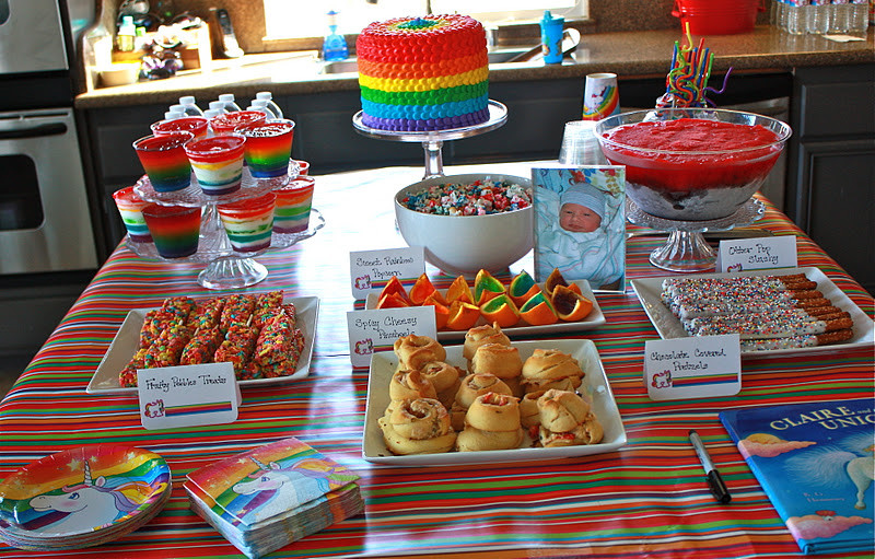 Unicorn Food Ideas For Party  12 Mystical Unicorn Birthday Party Ideas for Kids