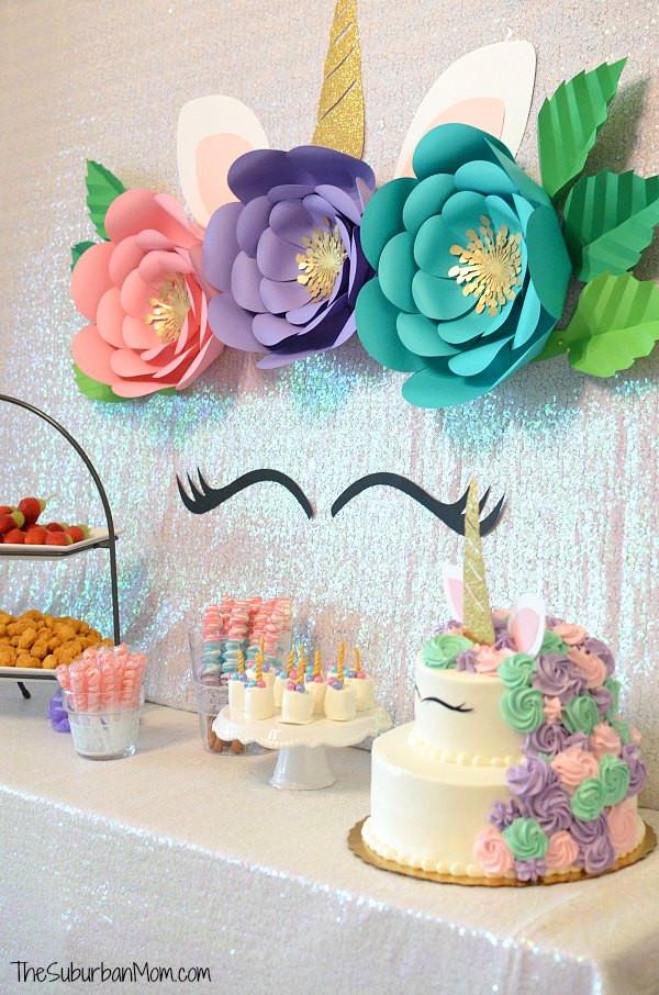 Unicorn Food Ideas For Party  Unicorn Birthday Party Ideas Food Decorations
