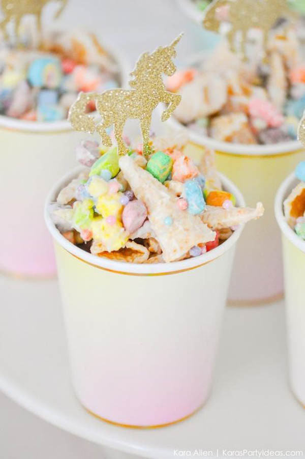 Unicorn Food Ideas For Party  Lovely Unicorn Party Ideas B Lovely Events