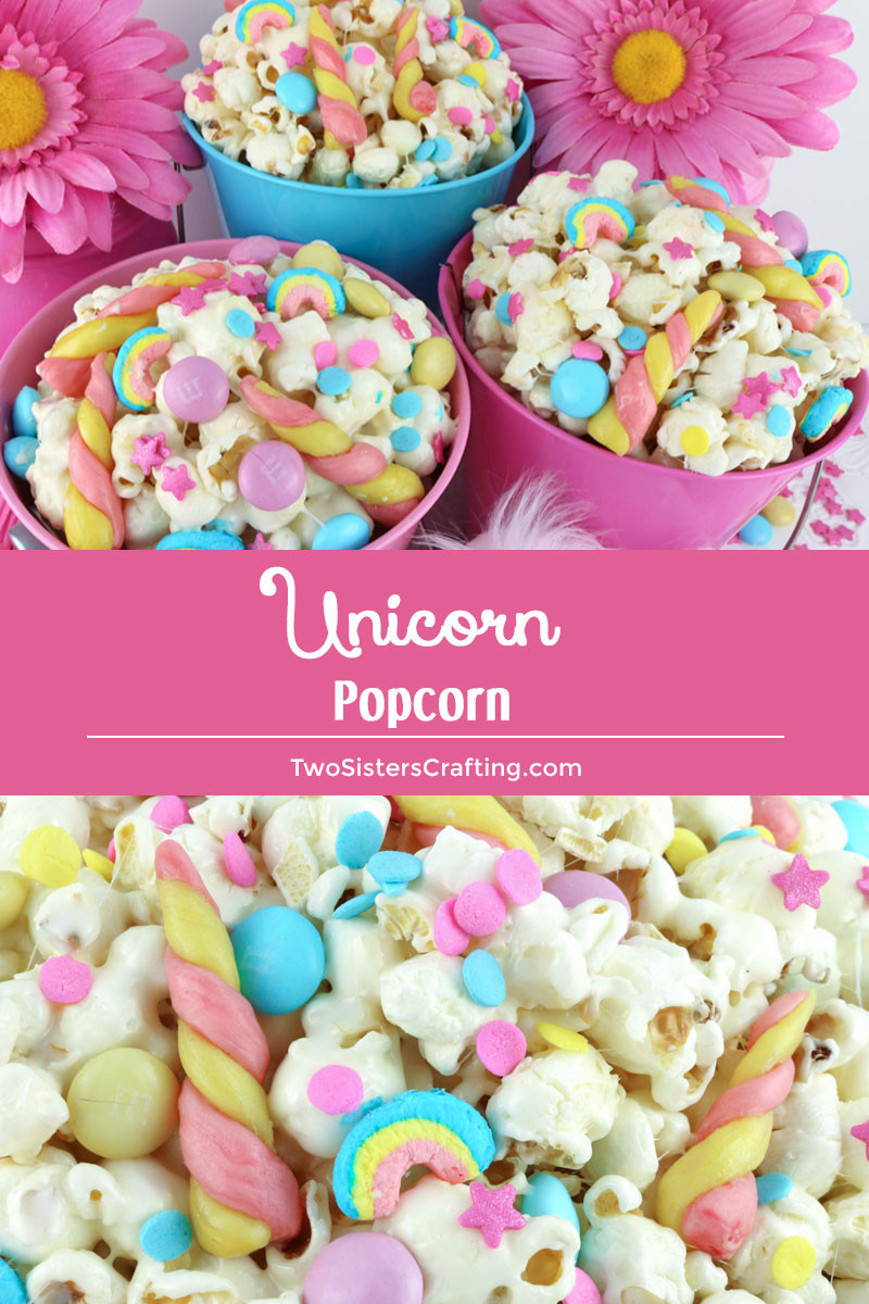 Unicorn Food Ideas For Party  Unicorn Popcorn Two Sisters