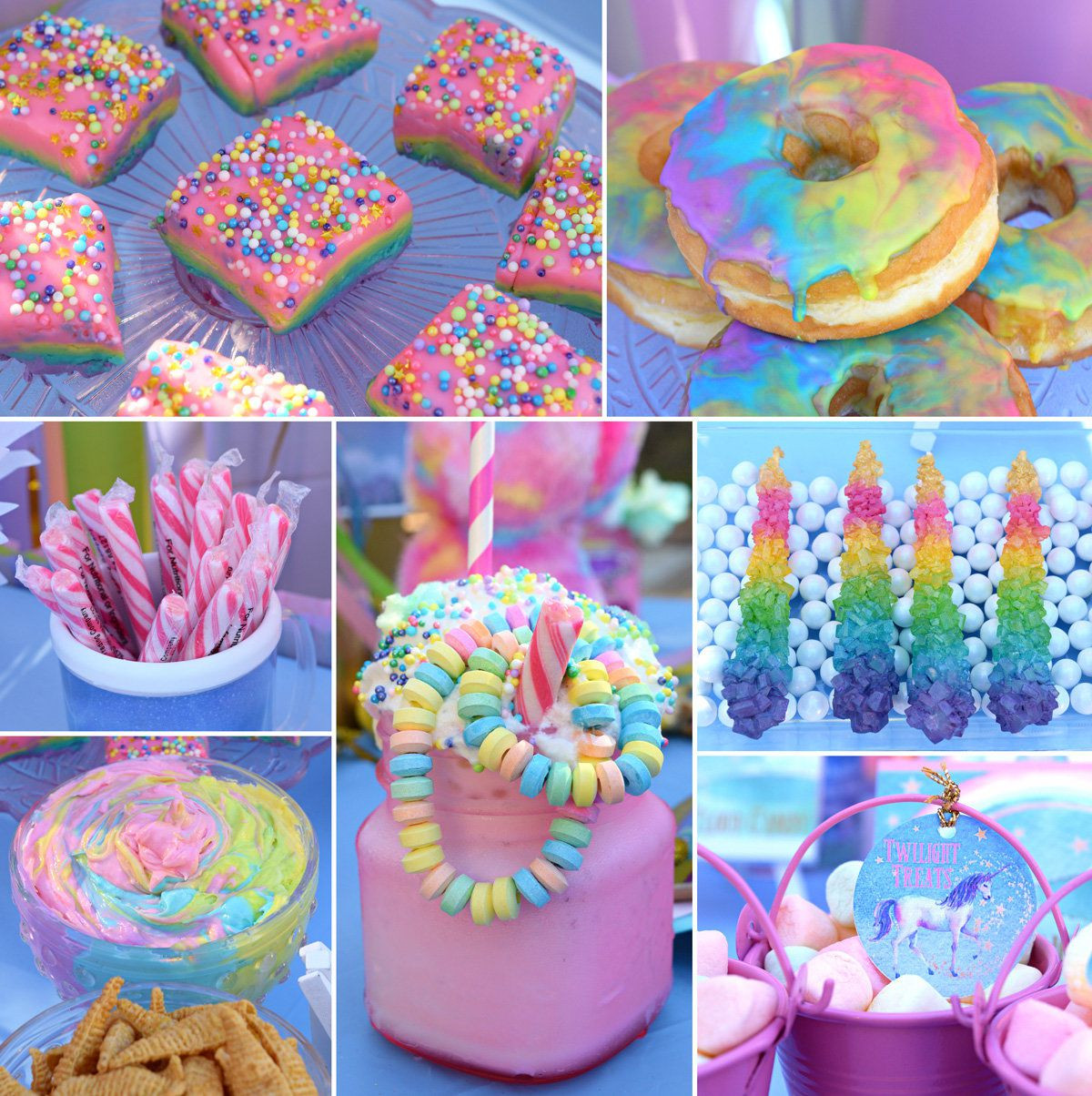 Unicorn Food Ideas For Party  Unicorn Party Ideas