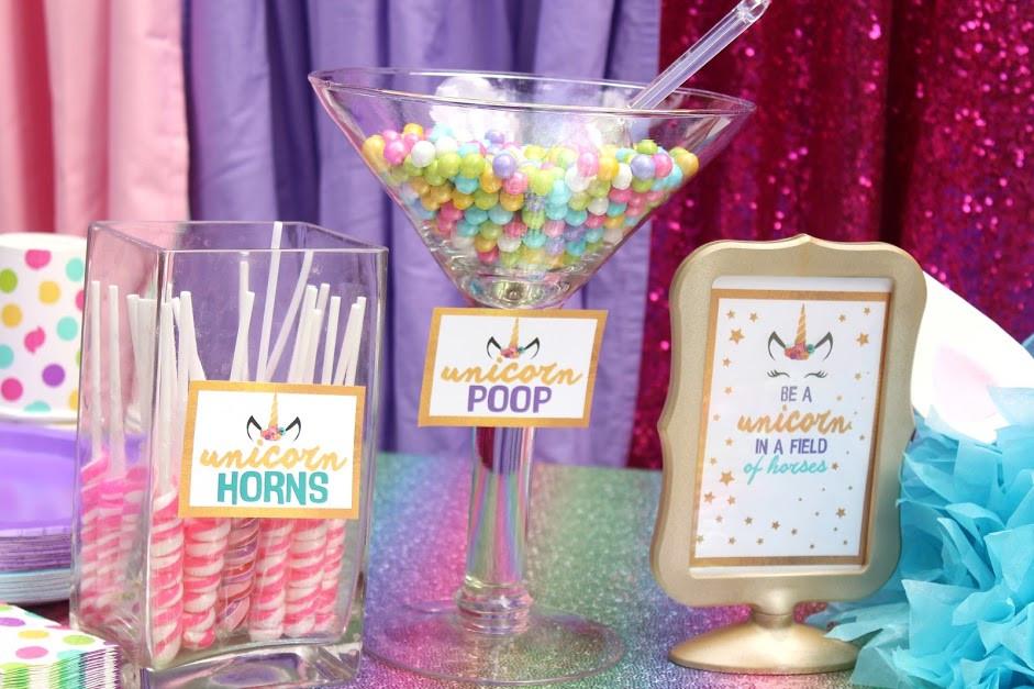 Unicorn Party Ideas Food  Unicorn Birthday Party Ideas with Free Printable Download