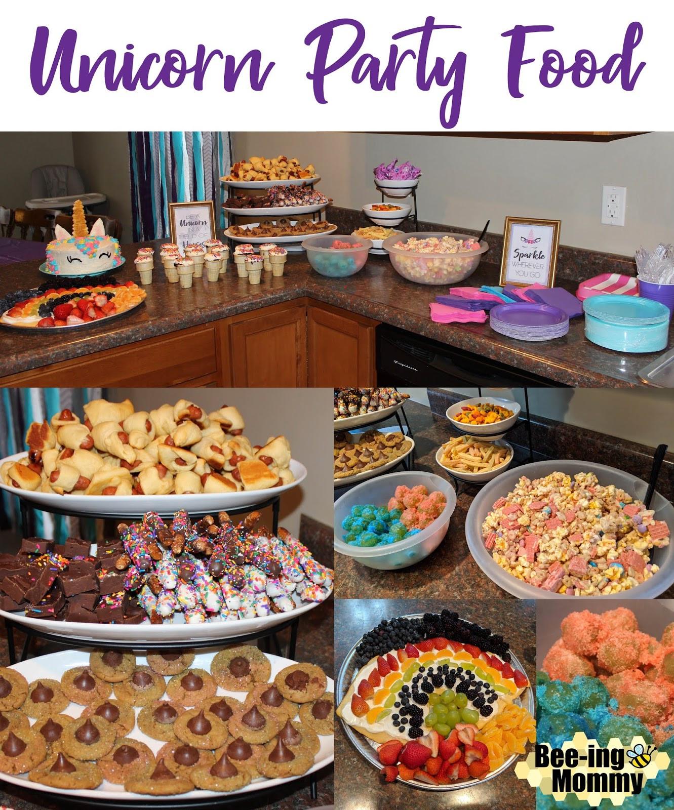 Unicorn Party Ideas Food  Magical Unicorn Birthday Party