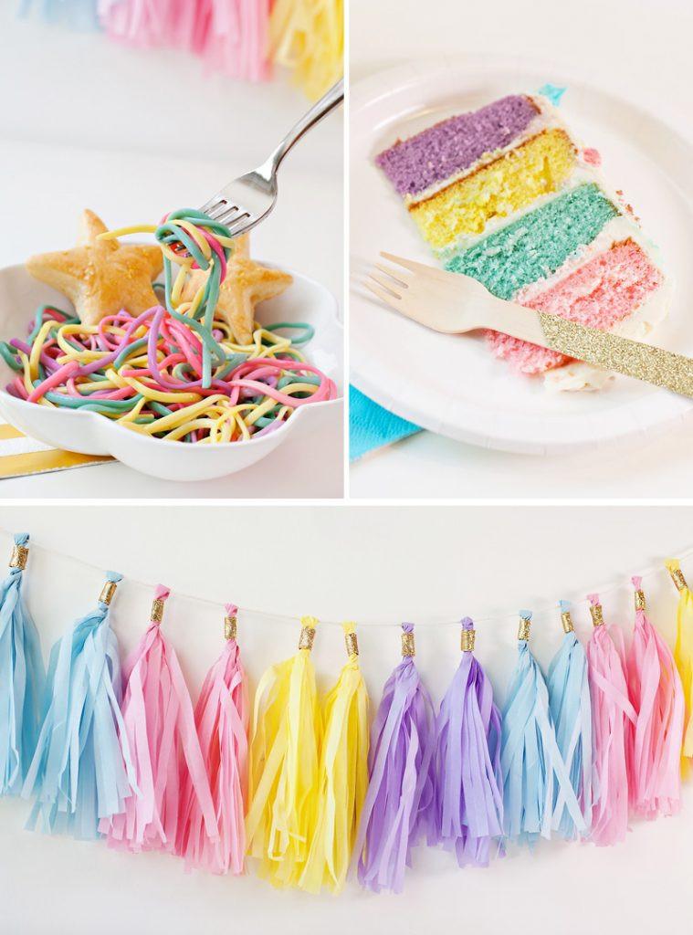 Unicorn Party Ideas Food  Simple & Sweet Unicorn Birthday Party Ideas Hostess