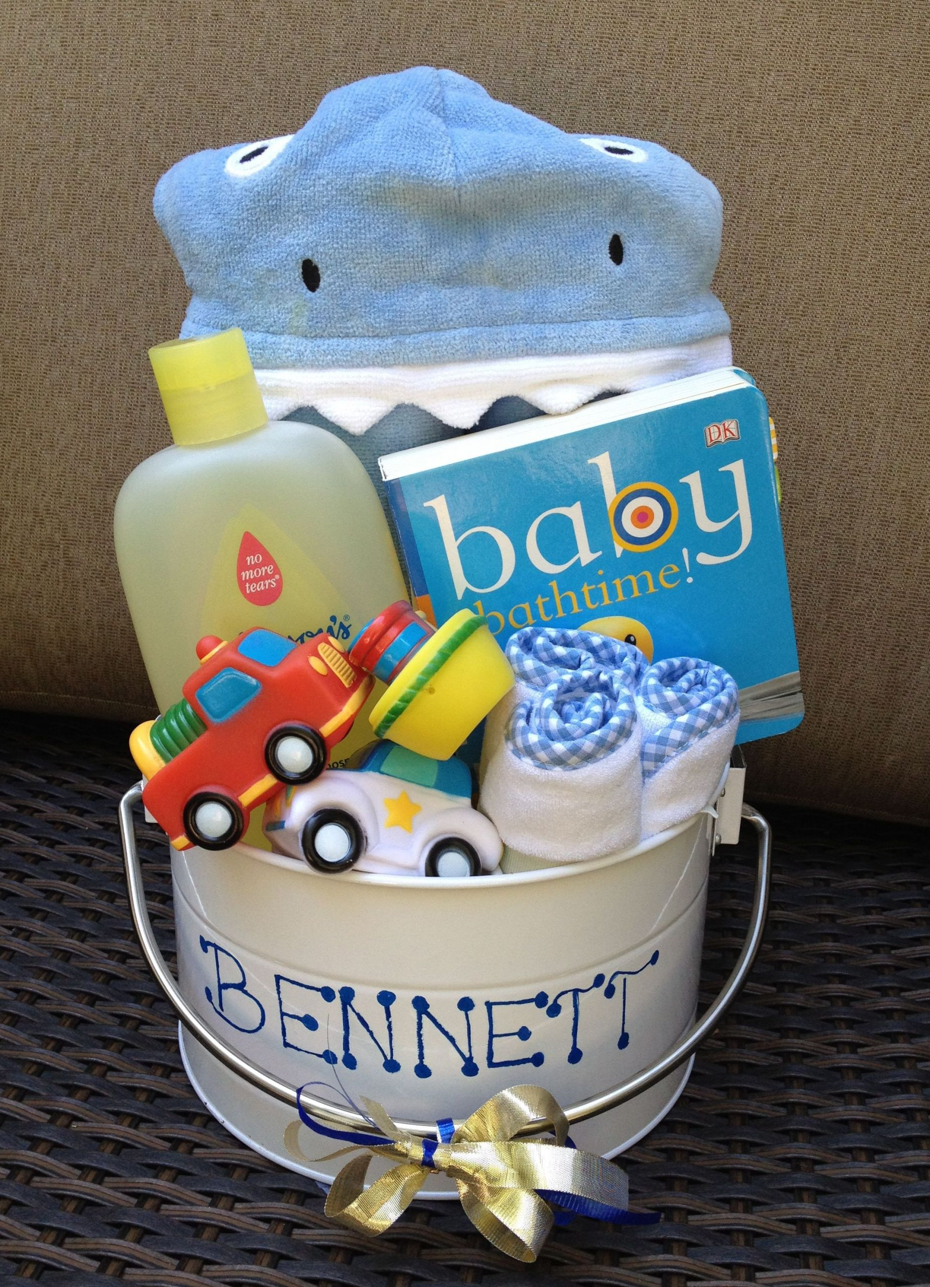 Unique Baby Shower Gift Ideas For Boys  Baby Bath Bucket Perfect for baby shower ts for boy or