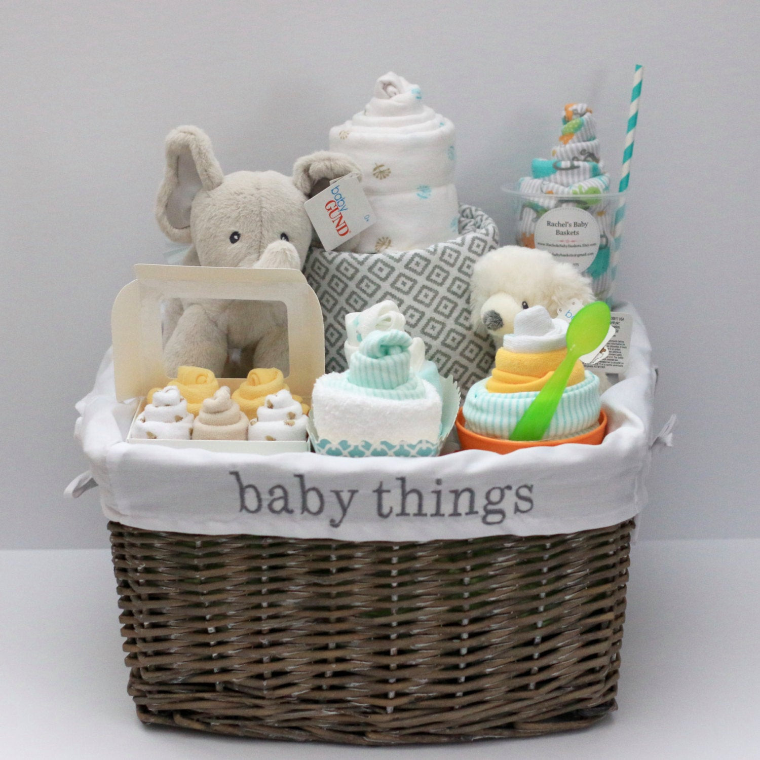 Unique Baby Shower Gift Ideas For Boys  Gender Neutral Baby Gift Basket Baby Shower Gift Unique Baby