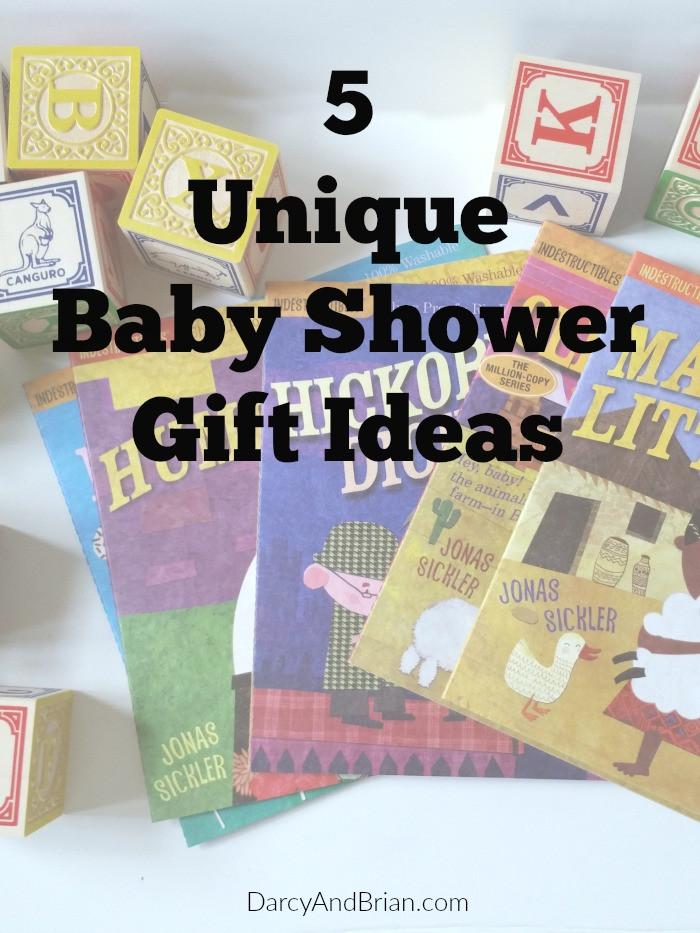 Unique Baby Shower Gift Ideas Pinterest  5 Unique Baby Shower Gift Ideas
