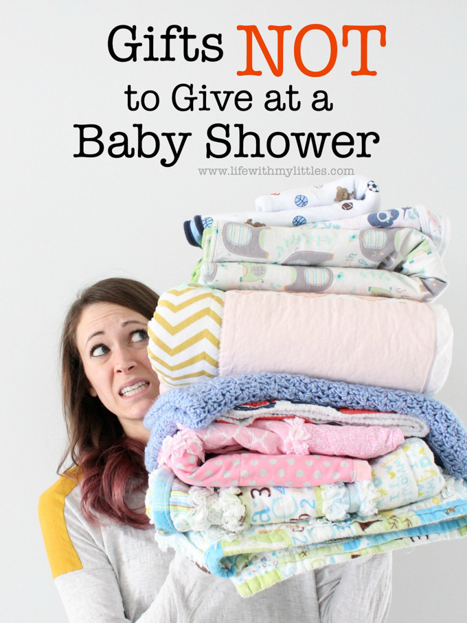 Unique Baby Shower Gift Ideas Pinterest  Gifts Not to Give at a Baby Shower Life With My Littles