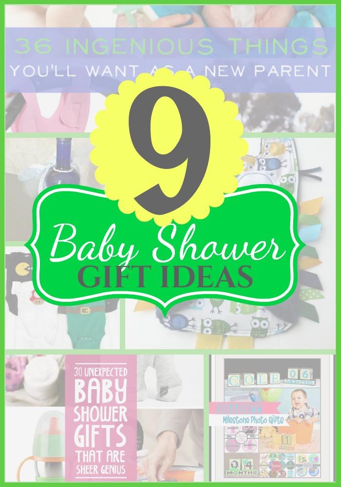 Unique Baby Shower Gift Ideas Pinterest  9 Unique Baby Shower Gift Ideas