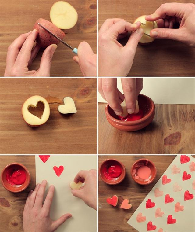 Valentine Day Gift Wrapping Ideas  Homemade Valentine ts Cute wrapping ideas and small
