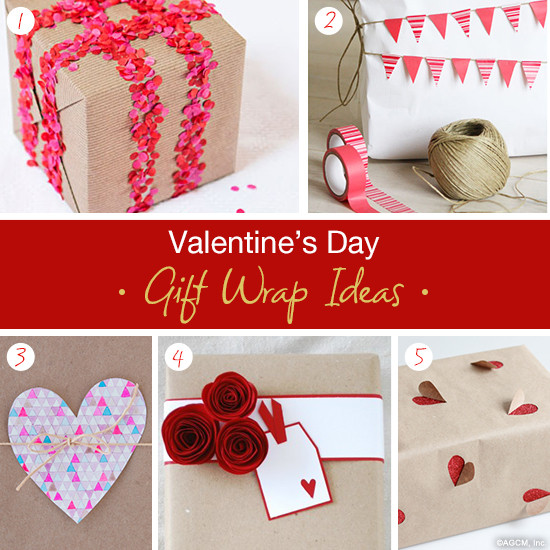 Valentine Day Gift Wrapping Ideas  Valentine s Day Gift Wrap Ideas American Greetings Blog