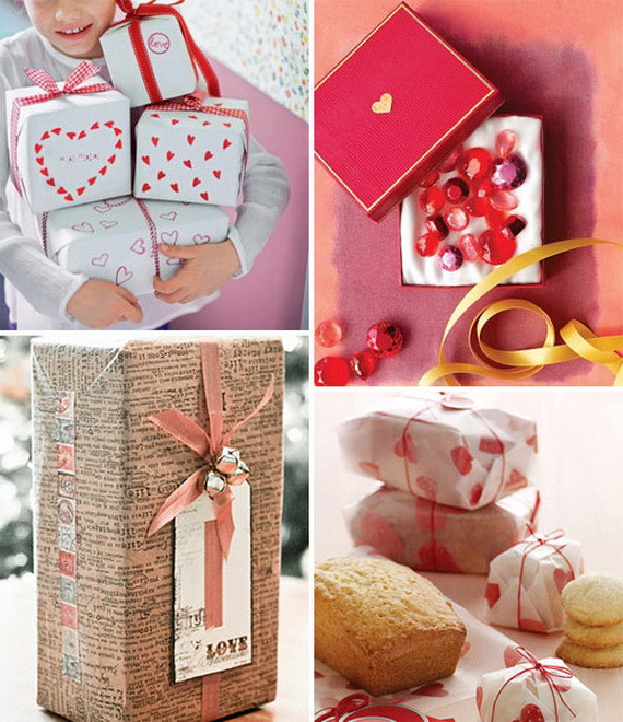Valentine Day Gift Wrapping Ideas  Valentine's Day Gift Wrapping Ideas
