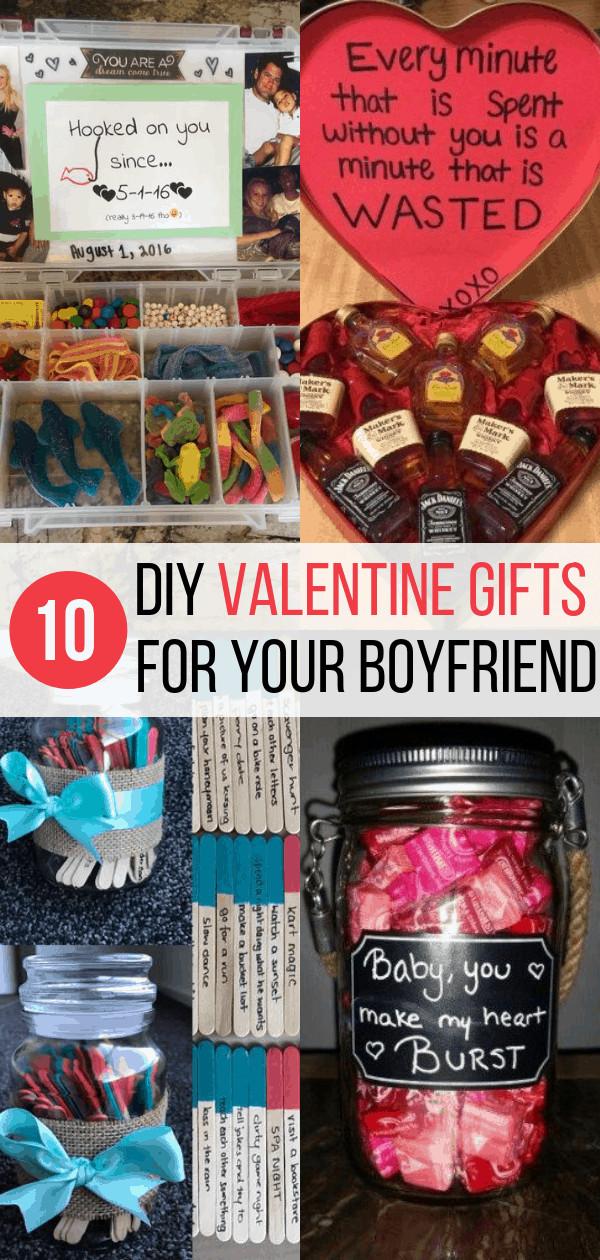 Valentine Gift Ideas For Boyfriends  10 DIY Valentine s Gift for Boyfriend Ideas Inspired Her Way
