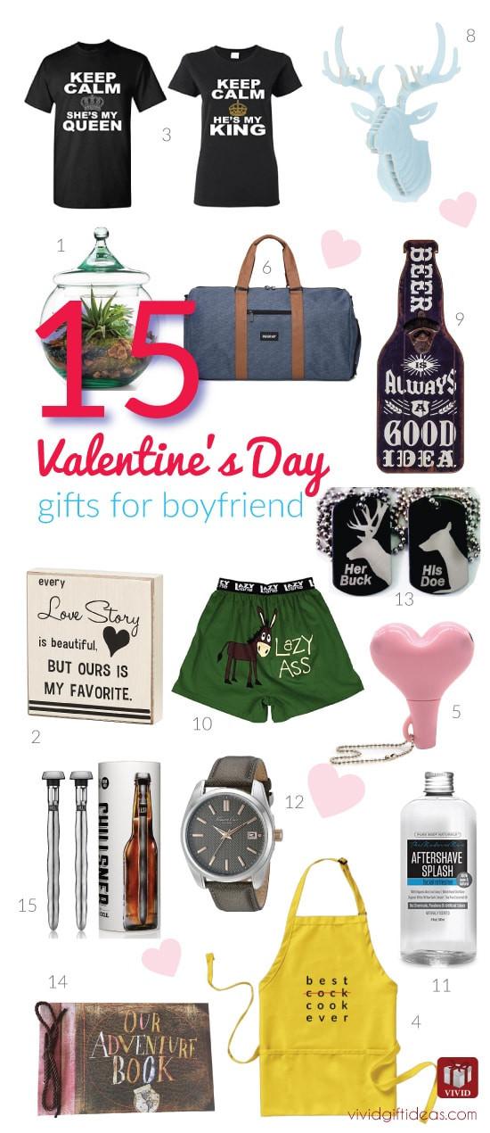 Valentine Gift Ideas For Boyfriends  15 Valentine s Day Gift Ideas for Your Boyfriend Vivid s
