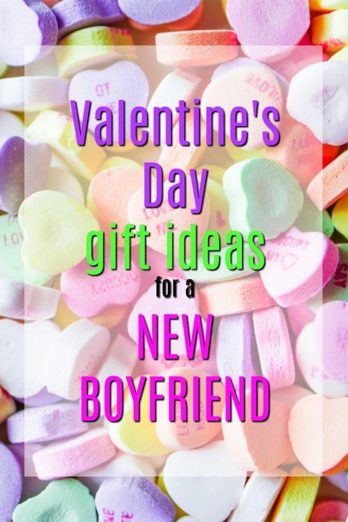 Valentine Gift Ideas For Boyfriends  20 Valentine's Day Gift Ideas for a New Boyfriend Unique
