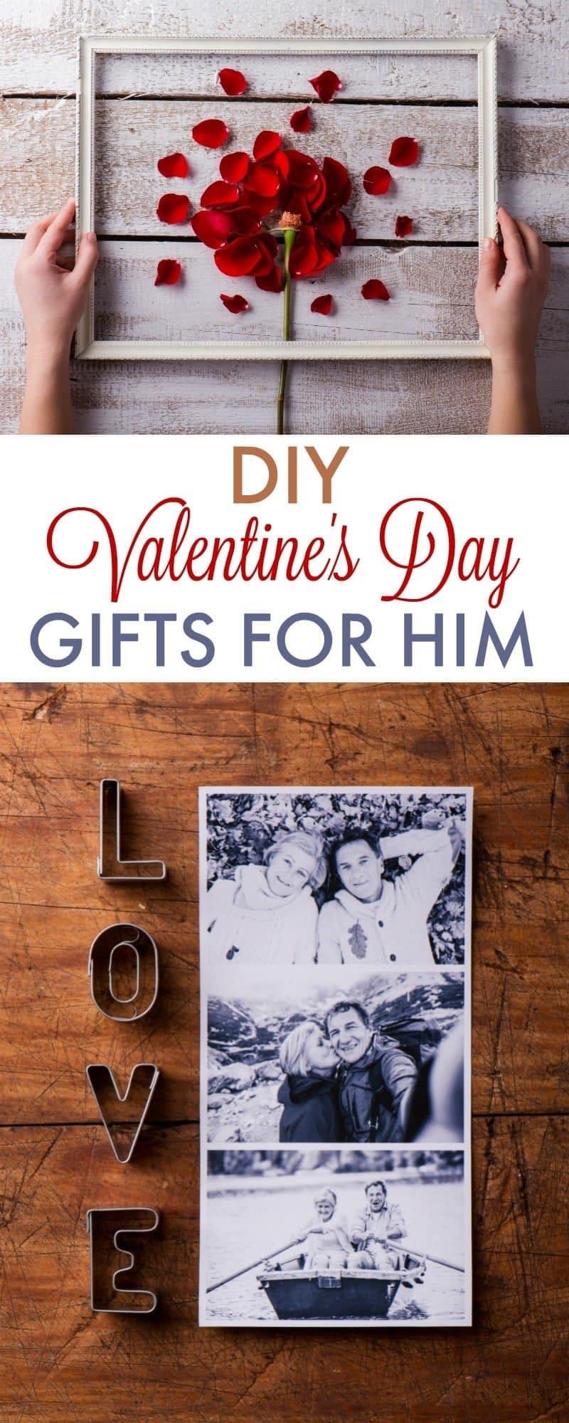 Valentine Gift Ideas For Boyfriends  DIY Valentine s Day Gifts for Boyfriend 730 Sage Street