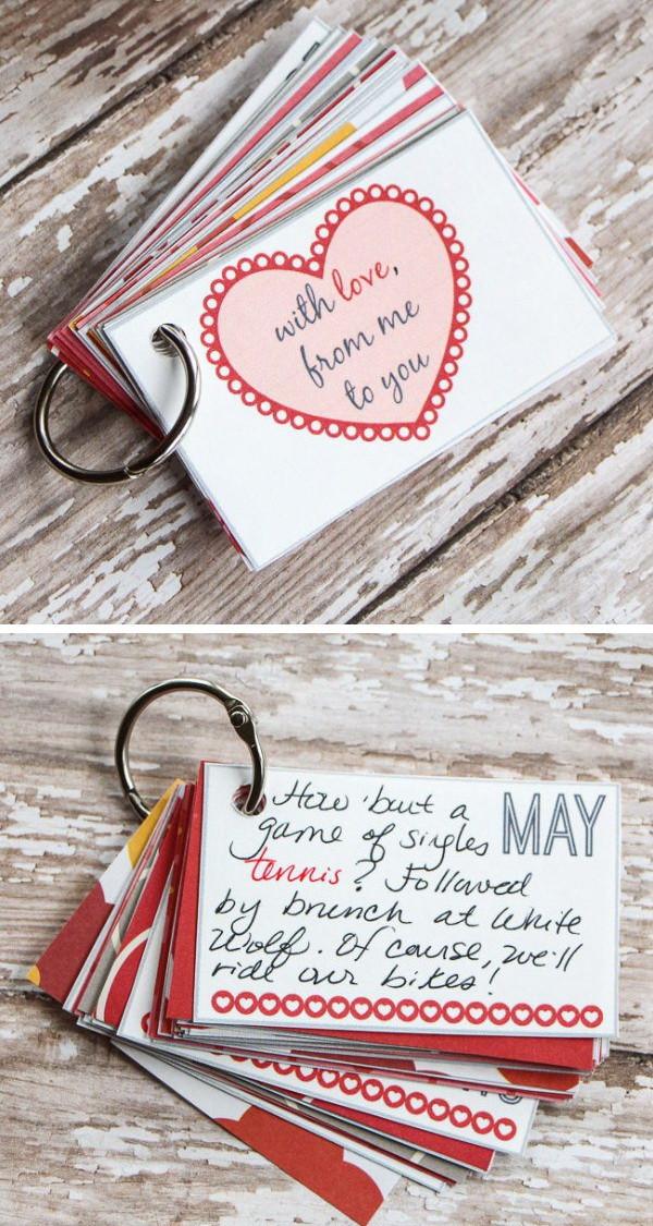 Valentine Gift Ideas For Boyfriends  Easy DIY Valentine s Day Gifts for Boyfriend Listing More