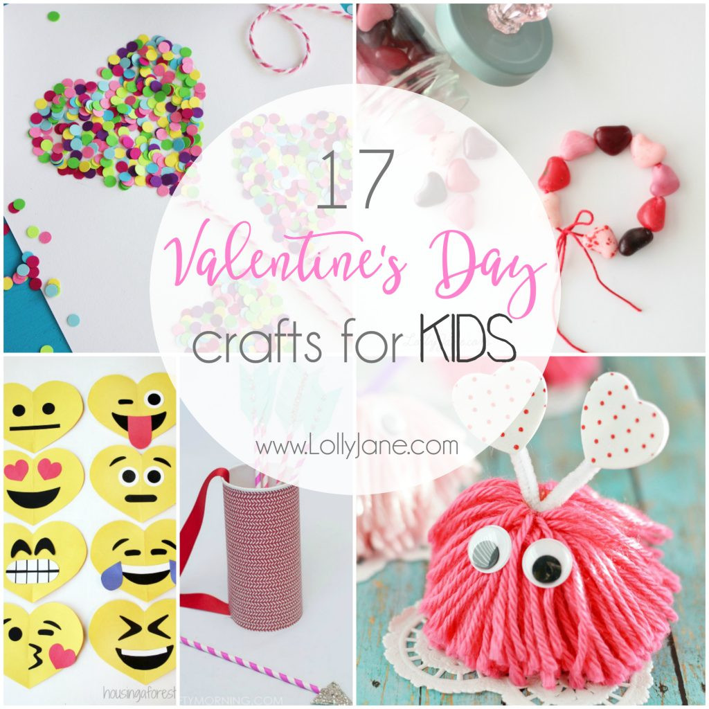 Valentine'S Day Craft Ideas For Preschoolers  17 Valentine s Day Crafts for Kids Lolly Jane