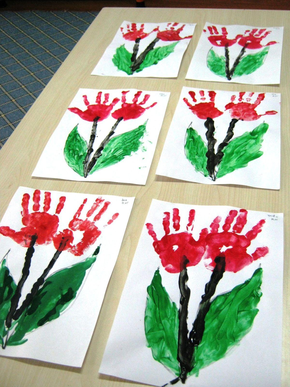 Valentine'S Day Craft Ideas For Preschoolers  flower craft