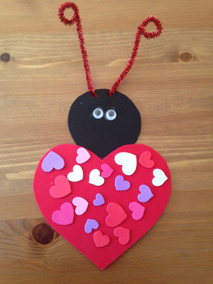 Valentine'S Day Craft Ideas For Preschoolers  Love Bug Craft Preschool Craft