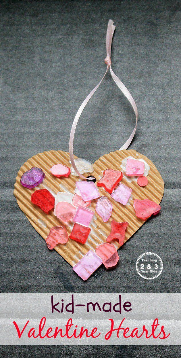 Valentine'S Day Craft Ideas For Preschoolers  Simple Heart Craft for Preschoolers