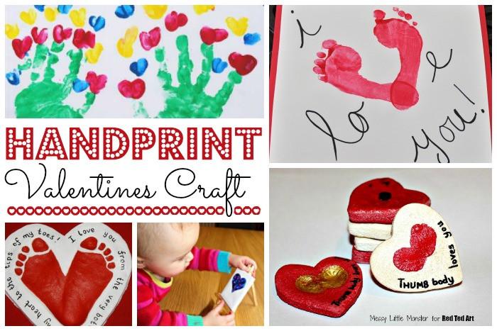 Valentine'S Day Craft Ideas For Preschoolers  Valentine Crafts for Preschoolers Red Ted Art s Blog