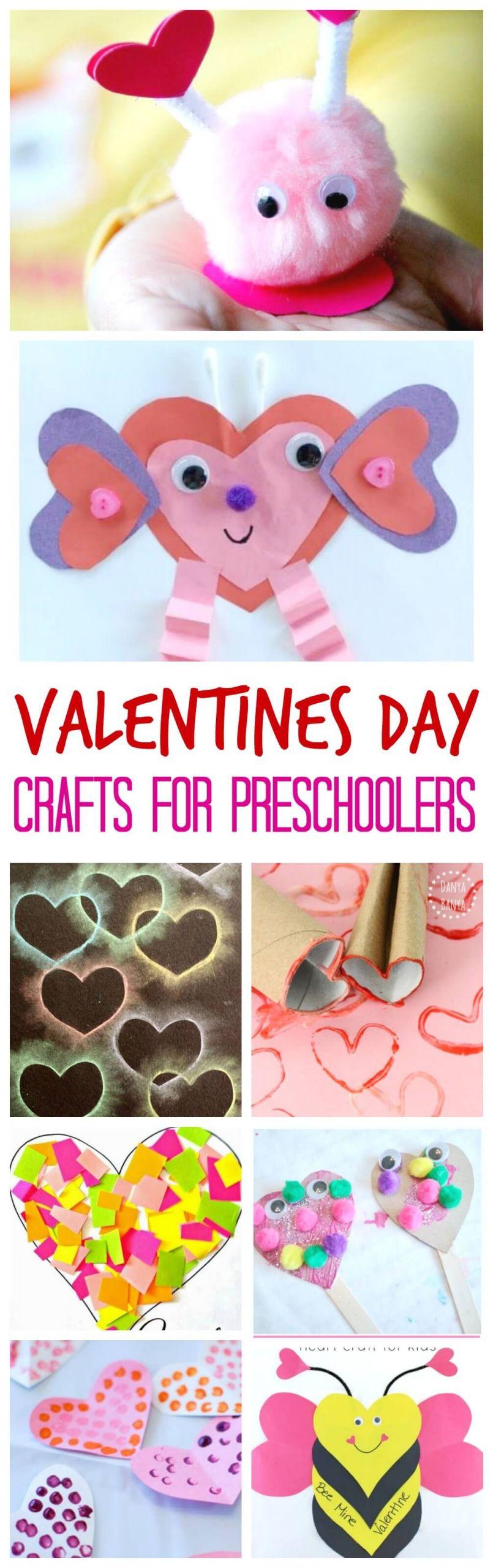 Valentine'S Day Craft Ideas For Preschoolers  Valentine s Day Crafts for Preschoolers