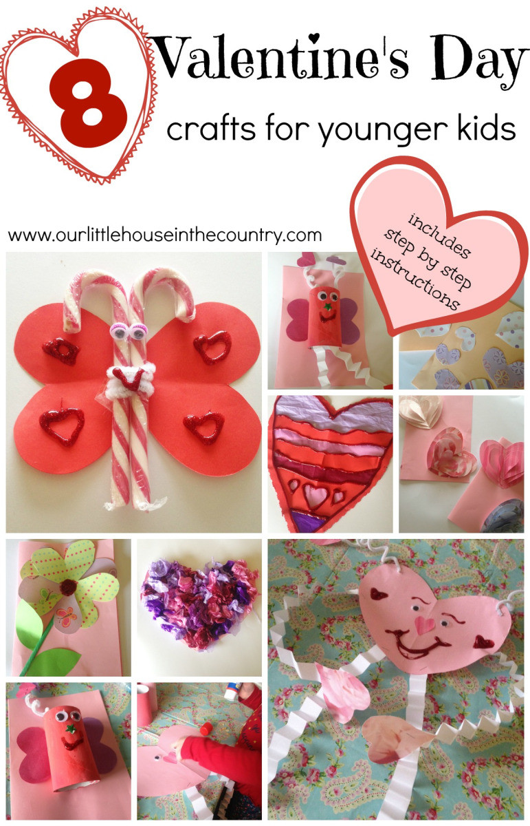 Valentine'S Day Craft Ideas For Preschoolers  Valentine's Day Crafts for Younger Children Preschool and