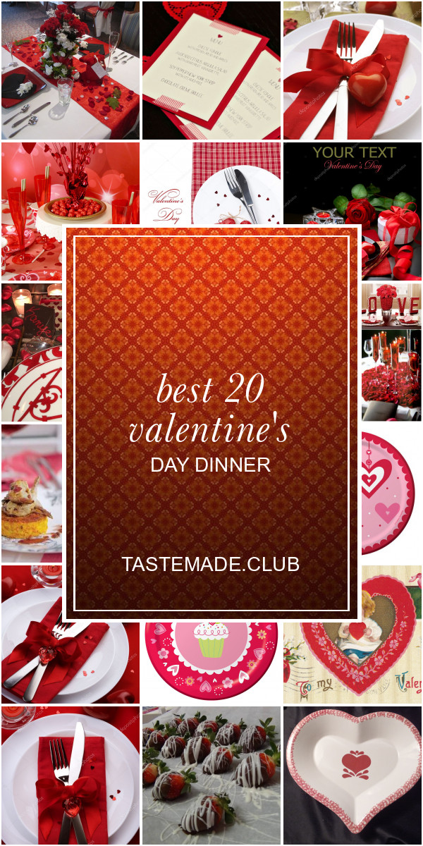 Valentine'S Day Dinner  ideas Archives Best Round Up Recipe Collections