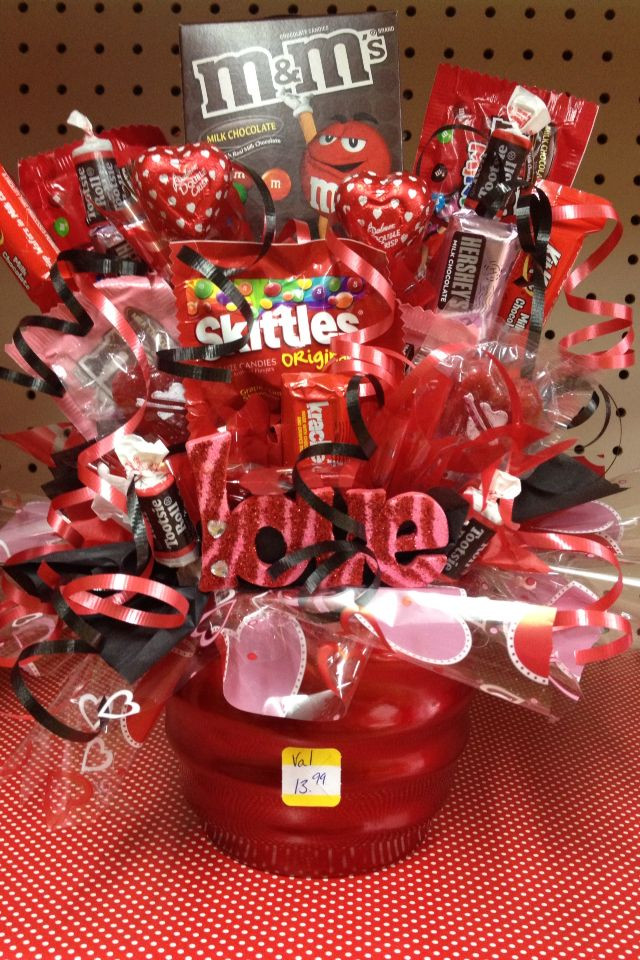 Valentines Candy Gift Ideas  Candy Bouquet