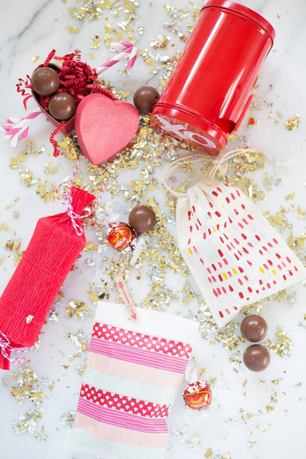 Valentines Candy Gift Ideas  DIY Gift Wrap Ideas for Valentine s Day Candy