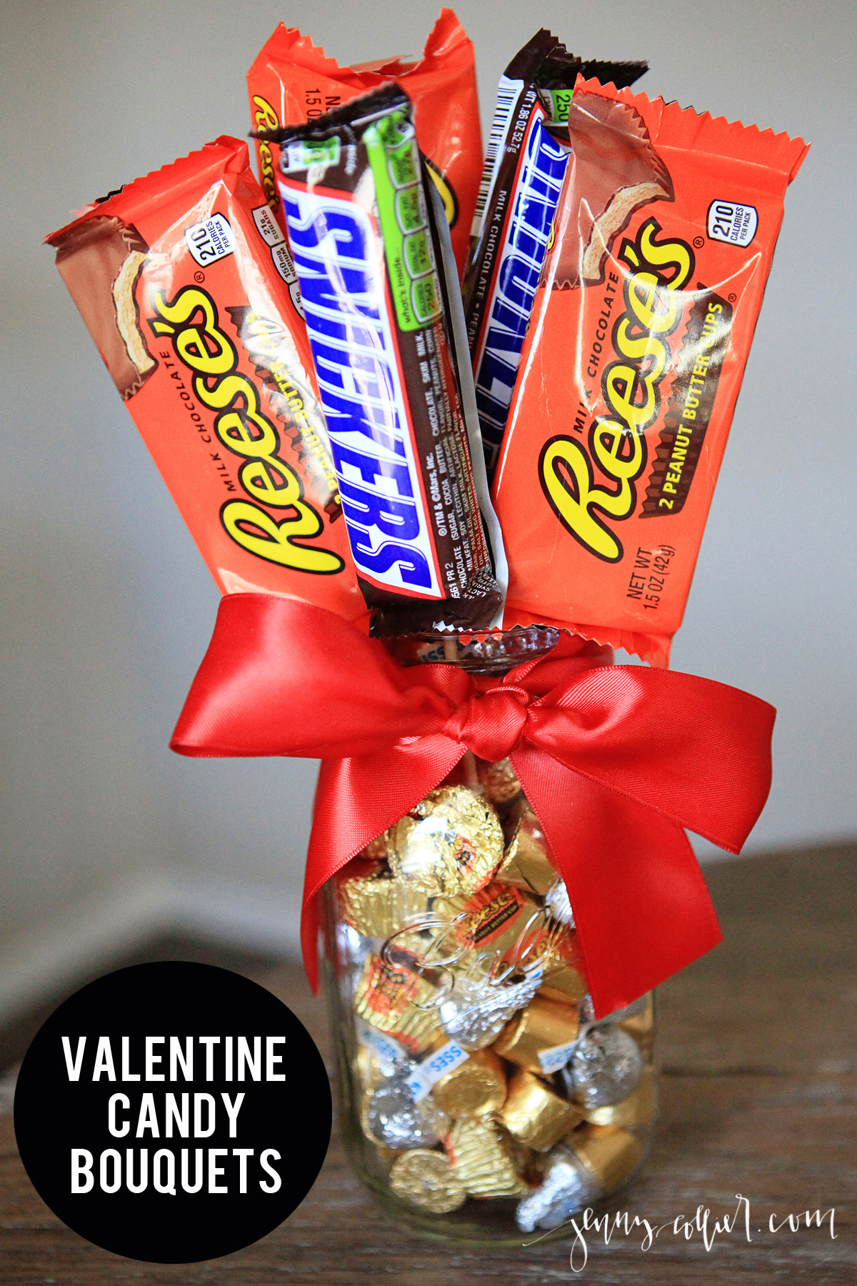 Valentines Candy Gift Ideas  Valentine Candy Bouquets jenny collier blog