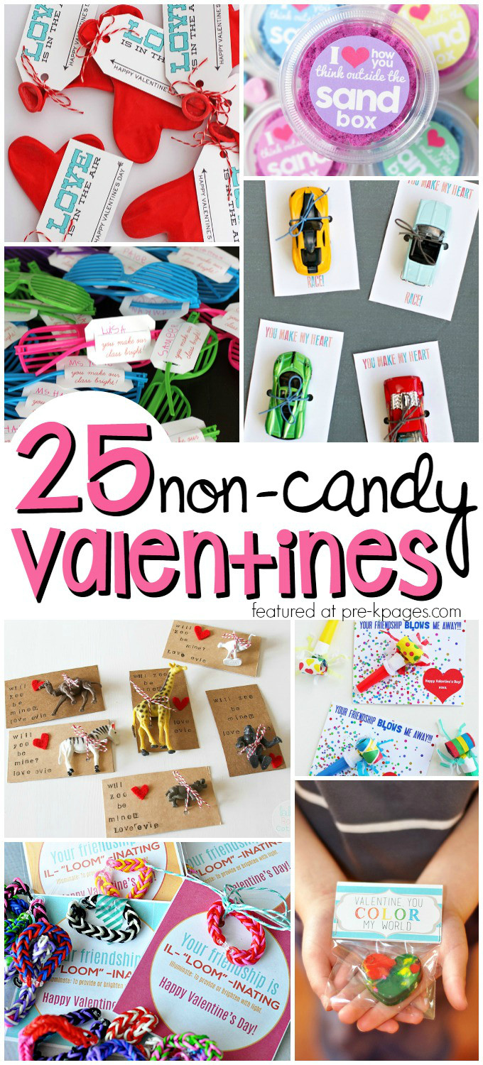 Valentines Candy Gift Ideas  Non Candy Valentines for Kids Pre K Pages