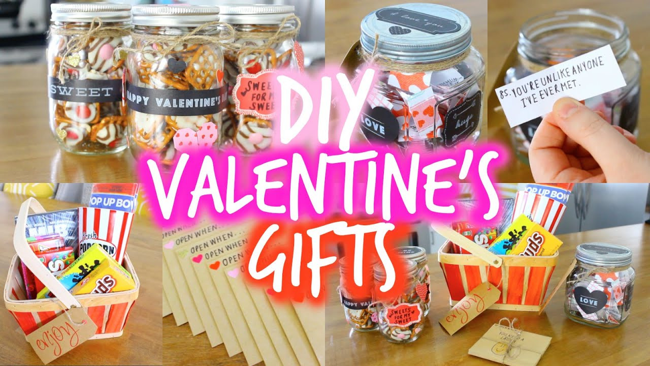 Valentines Day Gift Ideas For Husband  EASY DIY Valentine s Day Gift Ideas for Your Boyfriend
